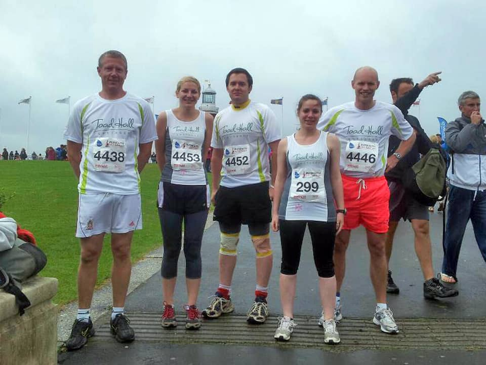 The Toad Hall Cottages Running Team