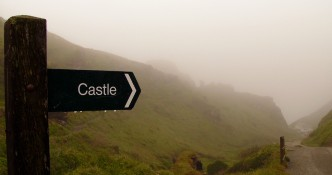 What legends lie beyond this misty trail?