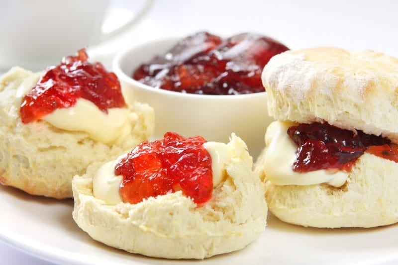 Here's a chance to test yourself - in which county would you upset the locals if you prepared a cream tea like the above?