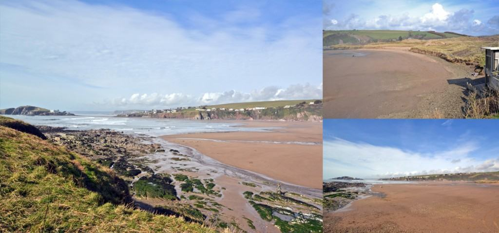 Many beaches like Bantham are unaffected and have plenty of room for everyone!