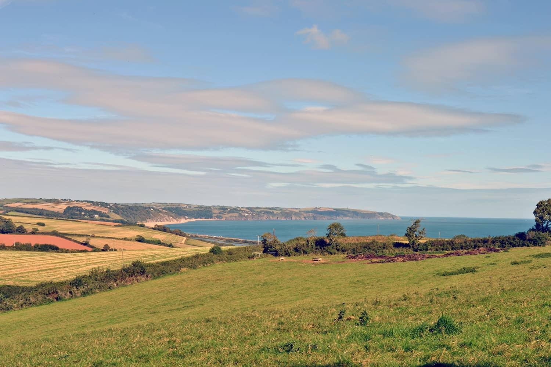 View towards Slapton Sands