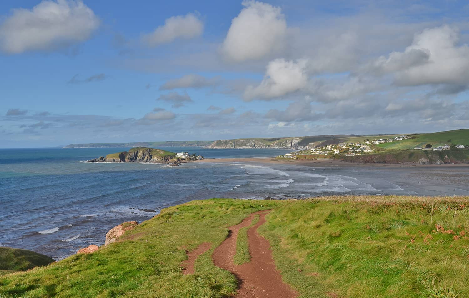 Bantham coast path