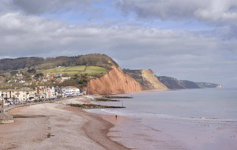 Sidmouth coastline