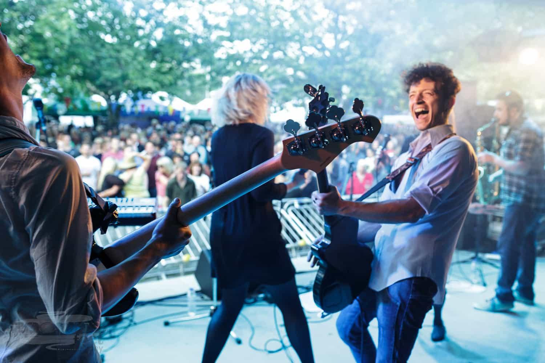 The Ferrantes at Kingsbridge Food and Music Festival