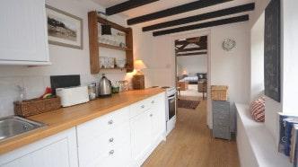 Higher Barn Studio-kitchen