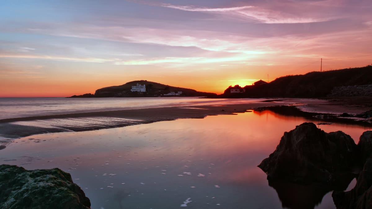 Burgh_Island_Sunset