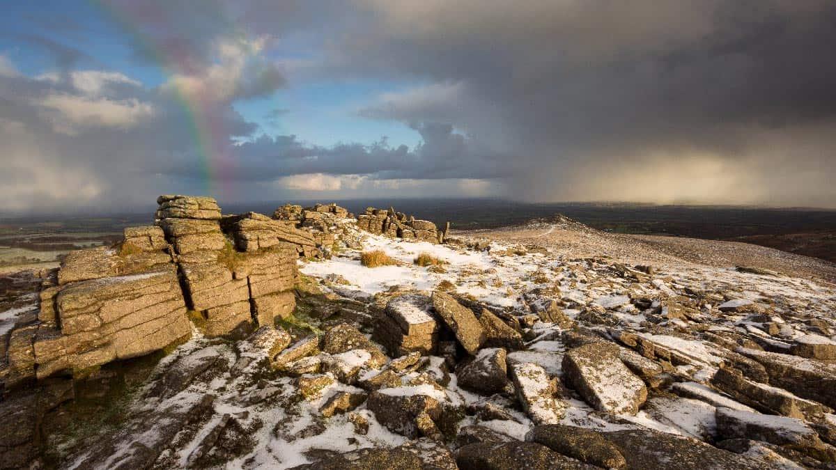 Snow-on-Dartmoor