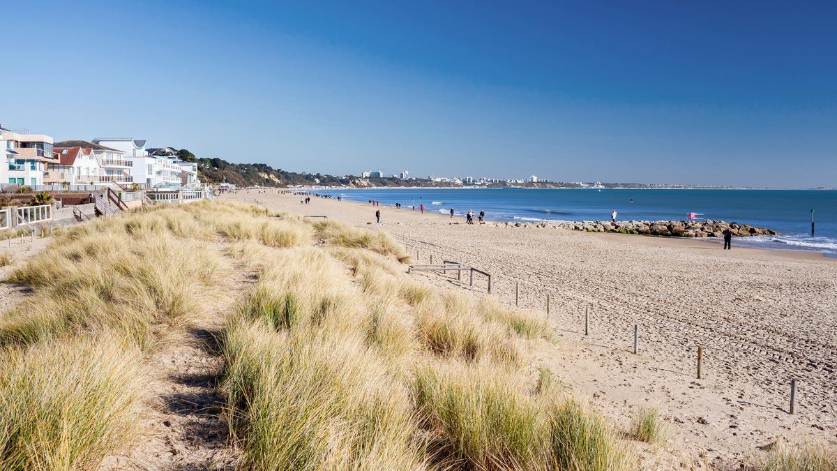 Sandbanks-beach
