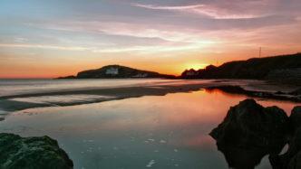Burgh-Island-Sunset