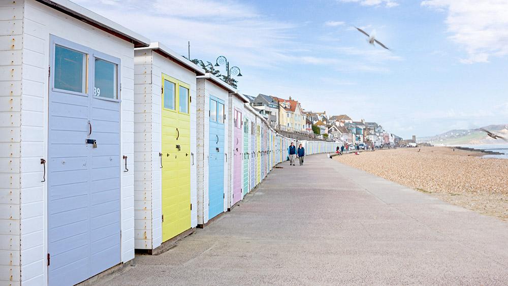 lyme-regis-beach-huts